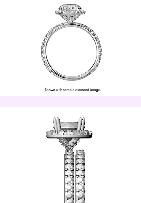 sample diamond ring